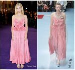 Lucy Boynton in Gucci @ 'Bohemian Rhapsody' London Premiere