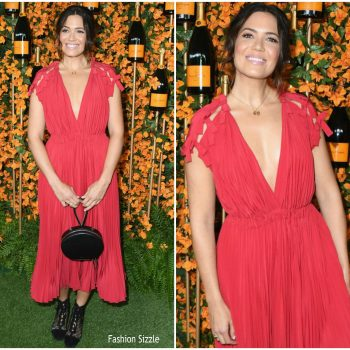 mandy–moore-in-fendi-2018-veuve-clicquot-polo-classic-in La