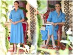 Meghan, Duchess Of Sussex In Veronica Beard  @ Royal Tour In Tonga