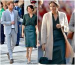 Meghan, Duchess of Sussex In And Other Stories & Hugo Boss  @ Sussex Visit