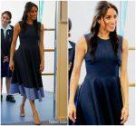 Meghan, Duchess of Sussex In Roksanda  @  Australia Tour Day 4