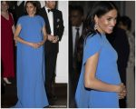 Meghan, Duchess Of Sussex In  Safiyaa @  State Banquet In Fiji
