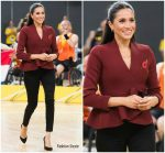Meghan, Duchess Of Sussex In  Scanian Theodore @ Invictus Games Sydney 2018