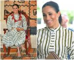Meghan Markle  Duchess of Sussex In  Martin Grant @ Tonga Tour