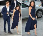 Meghan Markle , Duchess Of Sussex In Antonio Berardi  @ Royal Tour In New Zealand