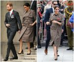 Meghan Markle , Duchess of Sussex In ASOS & Karen Walker  @ New Zealand Arrival