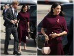 Meghan Markle Duchess Of Sussex In Boss  @ Royal Tour In Australia