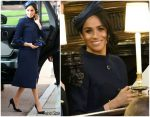 Meghan Markle In Givenchy @  Princess Eugenie Of York's Wedding