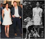Meghan Markle , Duchess of Sussex In Maggie Marilyn  @ Courtney Creative