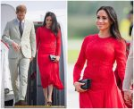 Meghan, Sussex In Self-Portrait  @ Tonga Visit