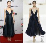 Mia Goth in Christian Dior Haute Couture @ 'Suspiria' LA Premiere