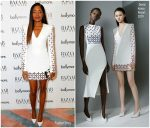 Naomie Harris In David Koma  @  Guggi Sculpture Unveiling Event
