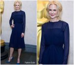 Nicole Kidman In Ralph Lauren @ Academy of Motion Picture Arts and Sciences Reception