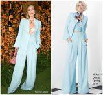 Olivia Wilde in Alice & Olivia @ 2018   Veuve Clicquot Polo Classic