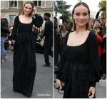 Olivia Wilde In  Valentino  @  Valentino  Paris Fashion Week  Spring 2019