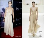 Rosamund Pike In Christian Dior Haute Couture @ 'A Private War' LA Premiere
