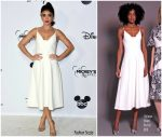 Sarah Hyland In  Christian Siriano @ Mickey's 90th Spectacular