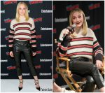 Sophie Turner In Isabel Marant  @  Entertainment Weekly's Panel Comic Con In New York