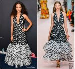 Thandie Newton In Carolina Herrera  @ Variety's Power Of Women Luncheon In Los Angeles