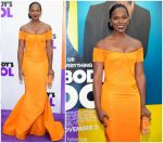 Tika Sumpter In  Zac Posen  @ Nobody's Fool' New York Premiere
