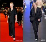 Tilda Swinton in Maison Margiela @ 'Suspiria' London Film Festival Premiere