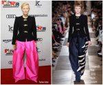 Tilda Swinton in Schiaparelli Haute Couture @ 'Suspiria' LA Premiere