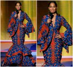 Tracee Ellis Ross  In  Lavie by CK Hosting 2018 American Music Awards