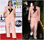 Tracee Ellis Ross In Pyer Moss @ 2018 American Music Awards