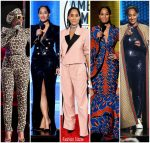 Tracee Ellis Ross Outfits Hosting  2018 American Music Awards