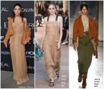 Vanessa Hudgens  In Alberta Ferretti  @ 2018 ELLE Women in Hollywood Celebration