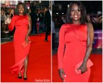 Viola Davis In Akris  @ 'Widows' London Film Festival Premiere