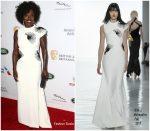Viola Davis In Bibhu Mohapatra  @  2018 British Academy Britannia Awards