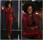Viola Davis In Cinq à Sept  @ Jimmy Kimmel Live