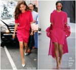 Zendaya Coleman In Sally La Pointe @ International Day of The Girl Child At Today Show