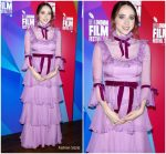 Zoe Kazan In Honor  @ 'Wildlife' London Film Festival Premiere