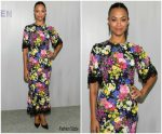 Zoe Saldana In Dolce & Gabbana  @ Hammer Museum 16th Annual Gala In The Garden