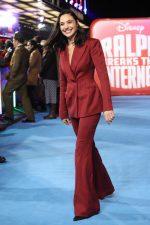 Gal Gadot In Mugler  @ 'Ralph Breaks The Internet' London Premiere