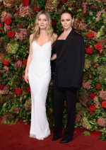Annabelle Wallis &  Stella McCartney In  Stella McCartney @ 2018 Evening Standard Theatre Awards