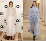 Allison Williams In Nina Ricci  @ 100 Women In Finance 17th Annual Fundraising Gala