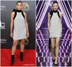 Amandla Stenberg In Ralph and Russo @ 2018 Hollywood Film Awards