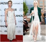 Amber Heard In Oscar de la Renta  @ 2018 Glamour Women of the Year Awards