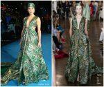 Amber Heard In Valentino Haute Couture  @ 'Aquaman' London Premiere