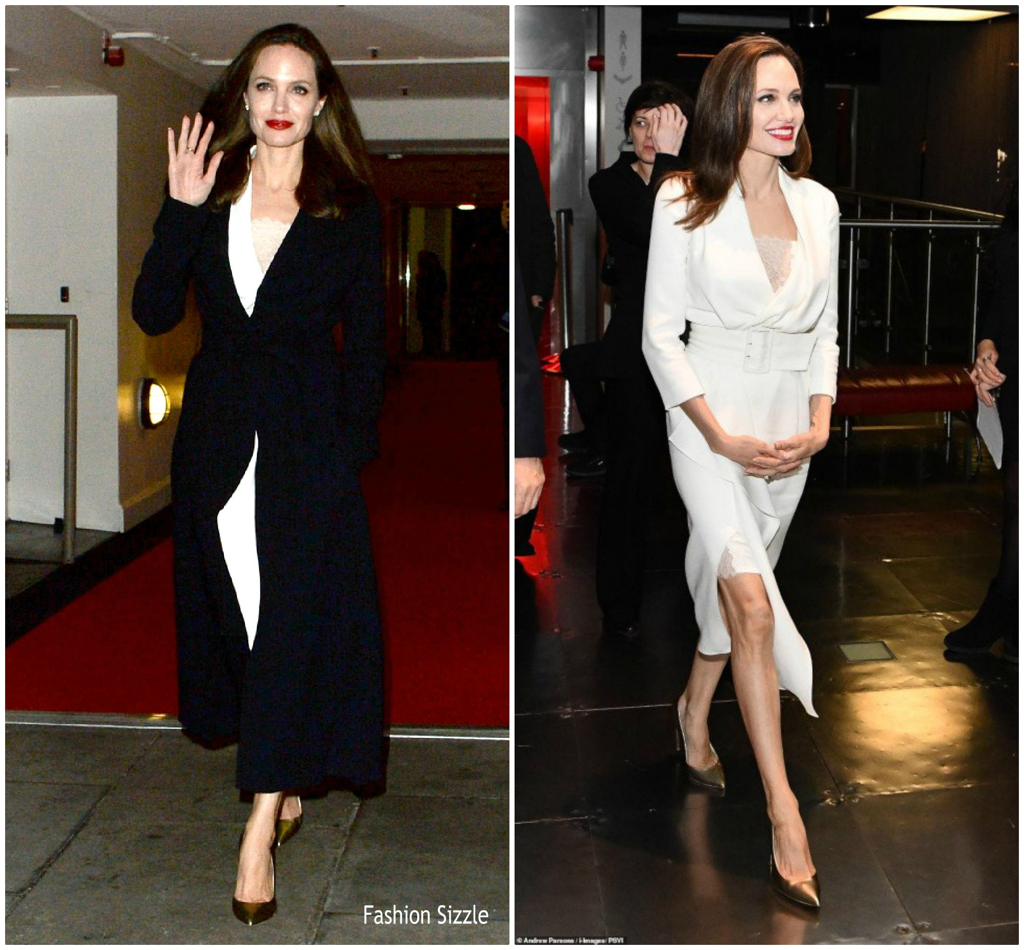 Angelina Jolie In Ralph Russo At Fighting Stigma Through