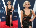 Bebe Rexha In Coach  @ 2018 CMA Awards