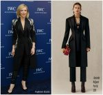 Cate Blanchett  In Alexander McQueen  @  IWC Schaffhausen Event in Shanghai, China