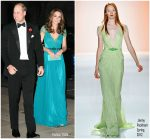Catherine, Duchess of Cambridge In Jenny Packham  @ The Tusk Conservation Awards