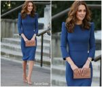 Catherine, Duchess of Cambridge In Jenny Packham  @ The Imperial War Museum Visit