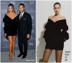 Chrissy Teigen  In Alexandre Vauthier & John Legend  In Neil Barrett  @ WSJ. Magazine 2018 Innovator Awards