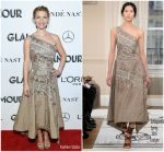 Claire Danes In Schiaparelli Haute Couture  @ 2018 Glamour Women of the Year Awards
