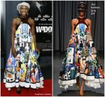 Cynthia Erivo in Mary Katrantzou @ 'Widows' New York Special Screening